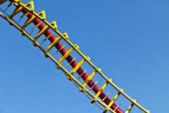 Roller coaster helix Royalty Free Stock Photo
