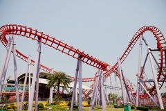 Roller Coaster In Thailand Royalty Free Stock Image