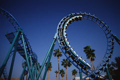 Roller coaster at Knott's Berry Farm, CA Stock Photography