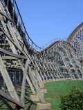 Roller coaster life Royalty Free Stock Images