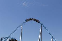 Roller_coaster_loop Lizenzfreie Stockfotografie