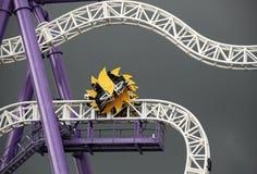 Roller coaster na terra de prazer Groena Lund #2 Imagem de Stock Royalty Free