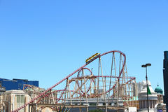 Roller coaster Royalty Free Stock Photo