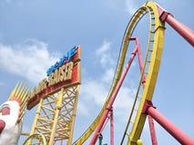 Roller coaster at Ocean park. In hongkong Stock Image