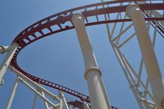 A roller coaster Royalty Free Stock Photography