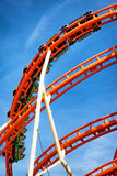 Roller coaster Royalty Free Stock Image
