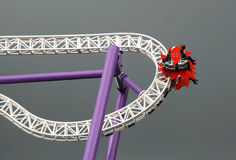 Roller-coaster at the pleasure ground Groena Lund #1 Stock Photography