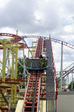 Roller-coaster in Prater park, Vienna Royalty Free Stock Photo