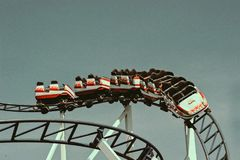 Roller Coaster Ride Stock Photos