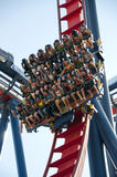 Roller coaster ride Royalty Free Stock Image