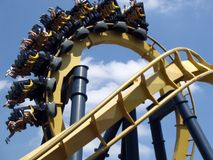 Free Roller Coaster Ride Royalty Free Stock Photography - 199737