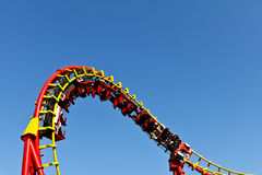 Roller coaster ride Stock Image