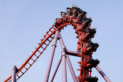 A roller coaster ride Stock Photography
