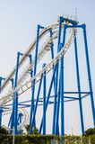 Roller coaster ride Royalty Free Stock Photo
