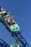 Roller coaster ride at Oktoberfest in Munich, Germany, 2015 Stock Photography