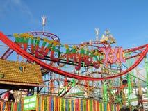 Roller Coaster ride Stock Photo