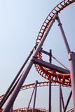 Roller coaster in thailand Stock Photography