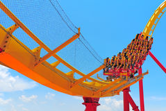 roller coaster thrill ride Stock Photography