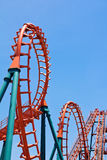 Roller Coaster Track. Image of Roller Coaster Track outdoor Stock Photo