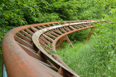 Roller Coaster Track Royalty Free Stock Image