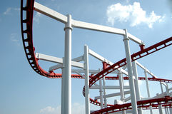 Roller Coaster Stock Photography