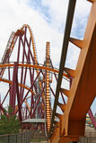 Roller Coaster Track Stock Image
