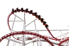 Roller Coaster Track Royalty Free Stock Photo