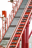 Roller coaster tracks Stock Photography