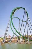 ROLLER COASTER UNIVERSAL ORLANDO Stock Images