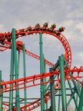 Roller Coaster Upside Down Royalty Free Stock Images