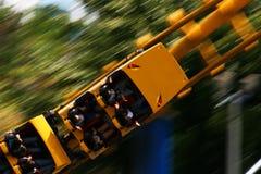 Roller coaster veloce Immagine Stock Libera da Diritti
