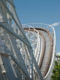 Roller coaster viejo fotos de archivo