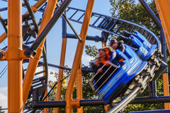 Roller Coaster Vienna Stock Image