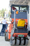 Roller compactors Royalty Free Stock Photos
