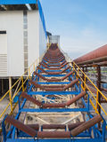 Roller conveyor Stock Image