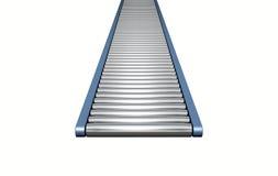 Roller Conveyor Stock Photo