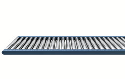 Roller Conveyor Royalty Free Stock Photos