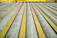 Roller conveyor Stock Image
