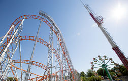 Roller Coster Royalty Free Stock Photography