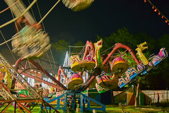 Roller coster ride at Howrah, West Bengal, India Stock Photography