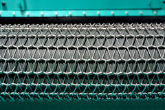 Roller covered with steel mesh. For beach-cleaning, as functional part of beach cleaning machine and vehicle Royalty Free Stock Image