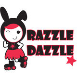 Roller Derby - Razzle Dazzle Stock Images