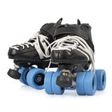 Roller derby skates isolated Royalty Free Stock Image
