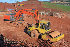 Roller and digger Stock Image