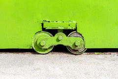 Roller doors Metal color background texture pattern Royalty Free Stock Photo