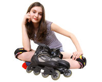 Roller Fun Royalty Free Stock Image