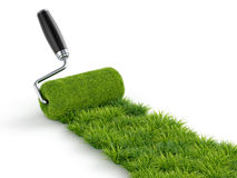 Roller grass Royalty Free Stock Images