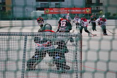 Roller hockey Royalty Free Stock Images