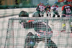 Roller hockey Stock Photo
