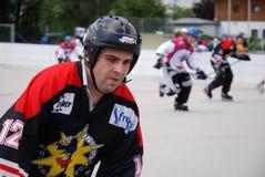 Roller hockey Stock Photo